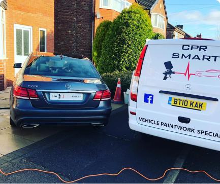mobile paint repair in greater manchester
